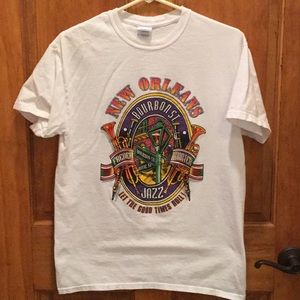 Let the good times roll in New Orleans t-shirt